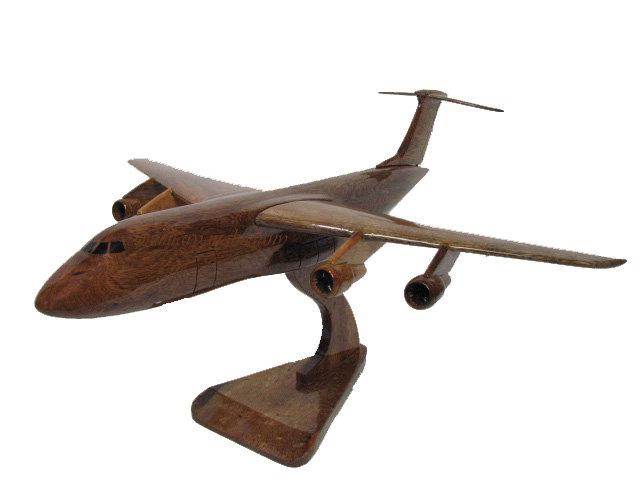 C-5 Galaxy Wooden Model