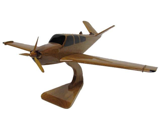 V-tail Bonanza Wooden Model