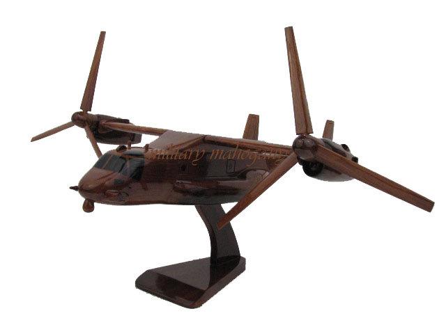 MV-22 Osprey Wooden Model