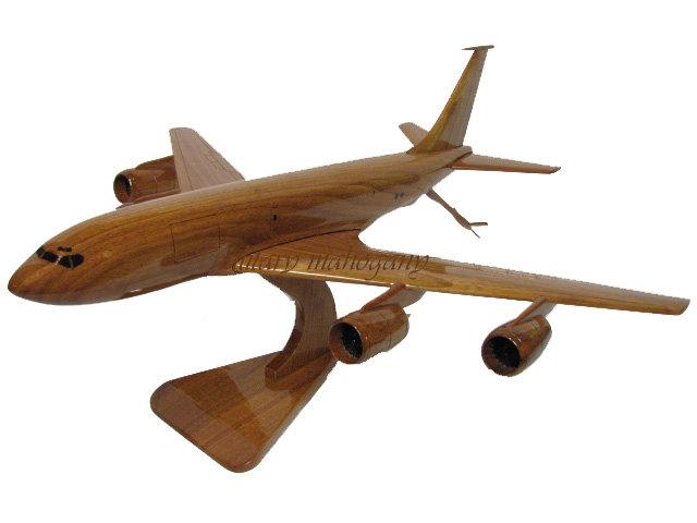 KC-135 Stratotanker Wooden Model