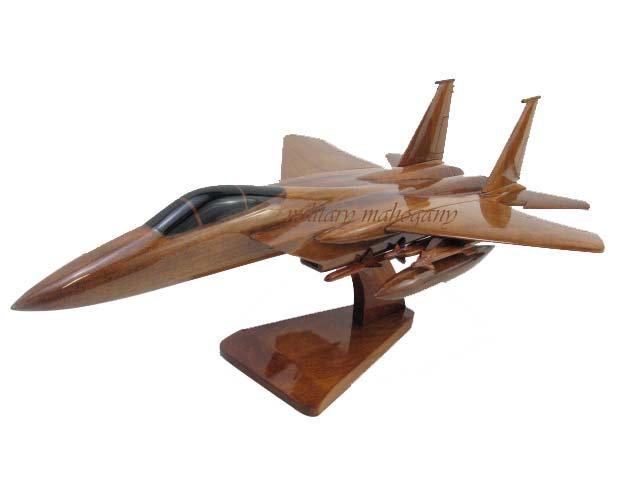F-15 Eagle Wooden Model