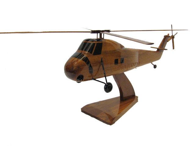 CH-34 Choctaw Wooden Model