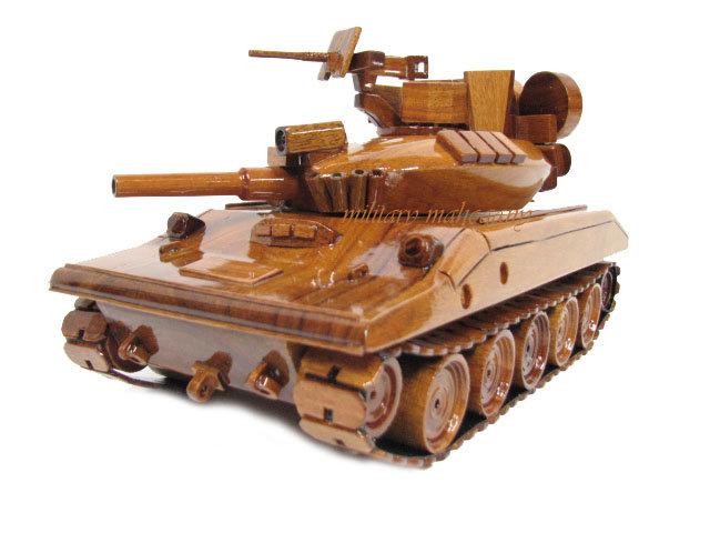 M551 Sheridan Wooden Model