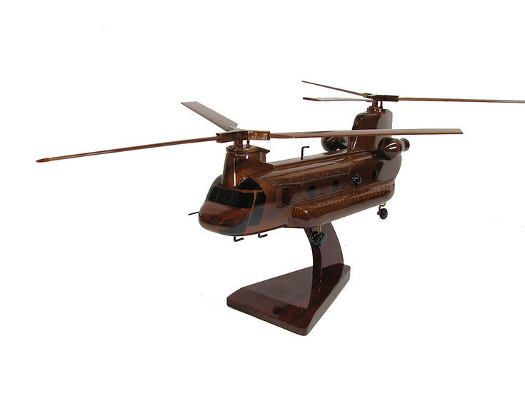 CH-47 Chinook Wooden Model