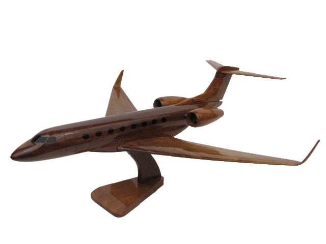 Gulfstream G650 Classic Wooden Model
