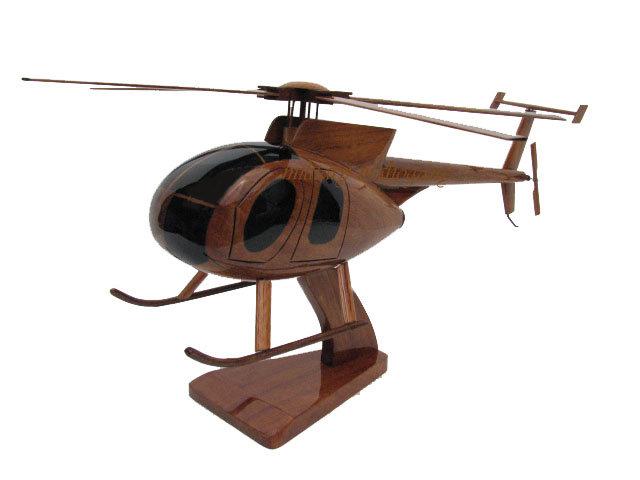 MD-500 Wooden Model