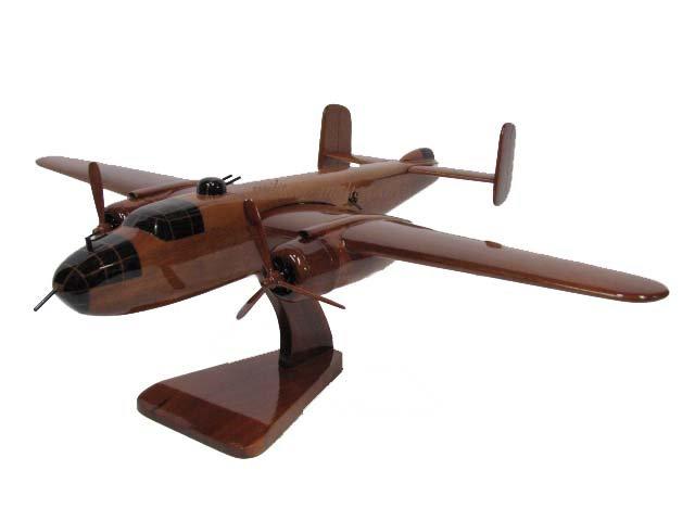 B-25 Mitchell Wooden Model