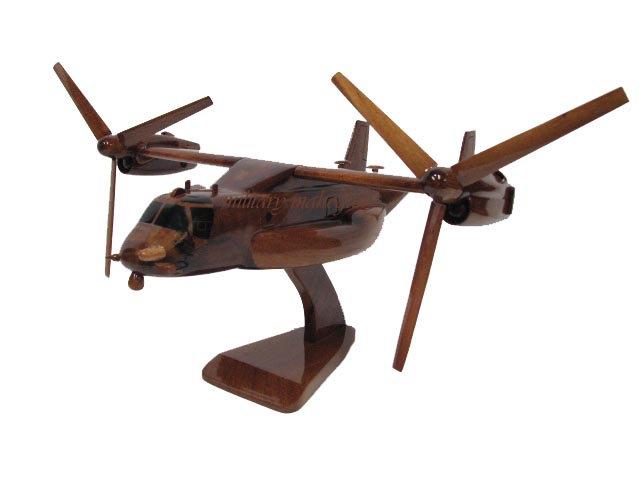 CV-22 Osprey Wooden Model