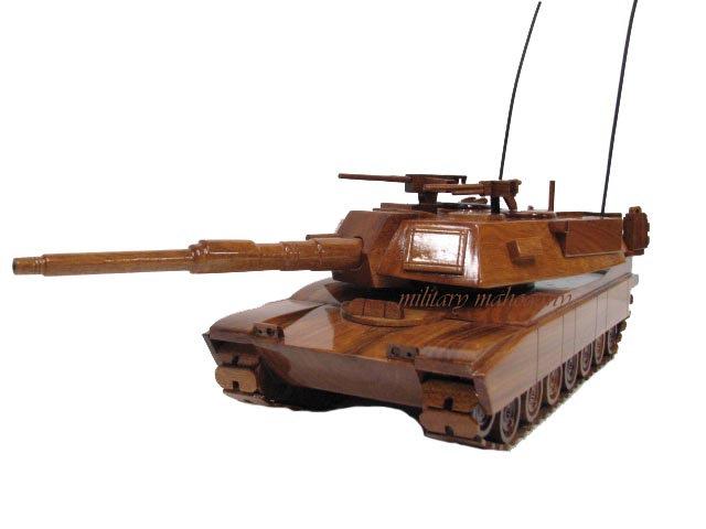 M1A1/M1A2 Abrams Wooden Model
