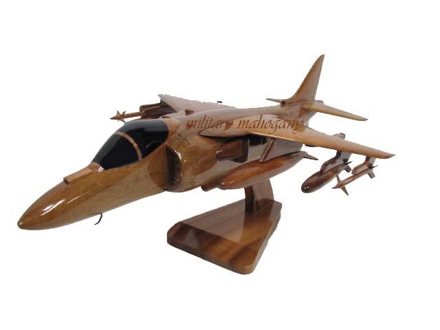AV-8B Harrier II Wooden Model