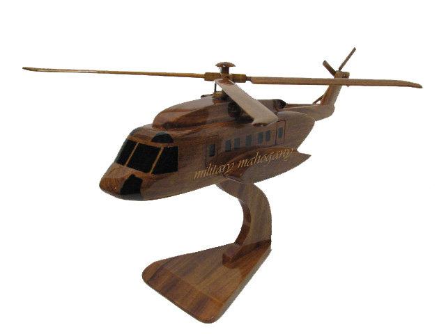 Sikorsky S-92 Wooden Model