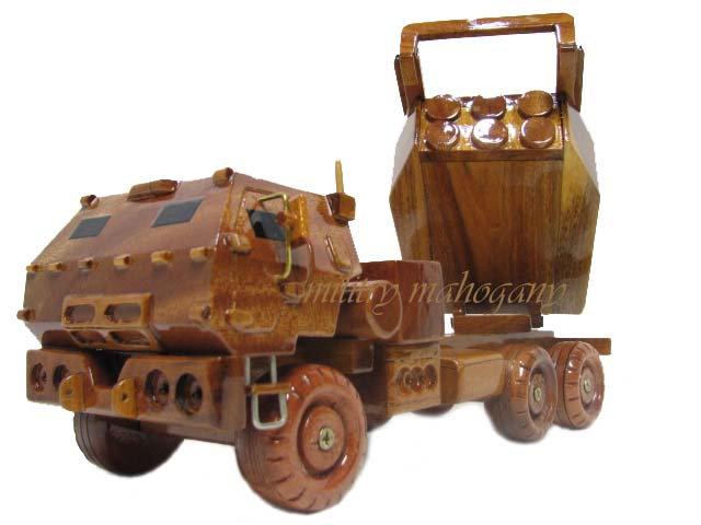 M142 HIMARS Wooden Model