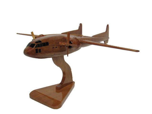 C-119 Flying Boxcar Wooden Model