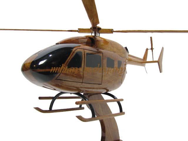 EC145 Wooden Model
