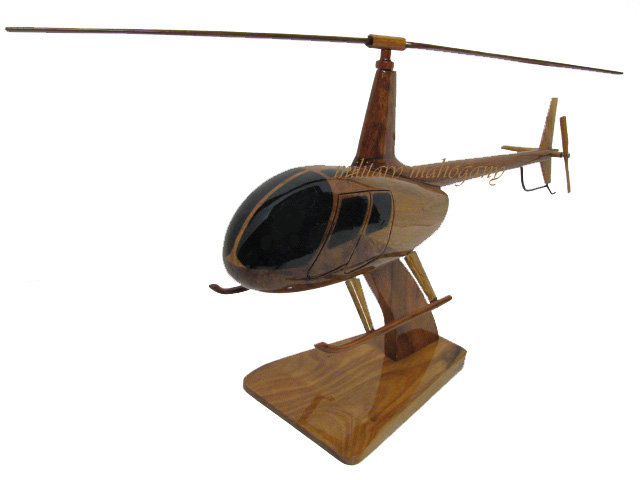 Robinson 44 R-44 Wooden Model