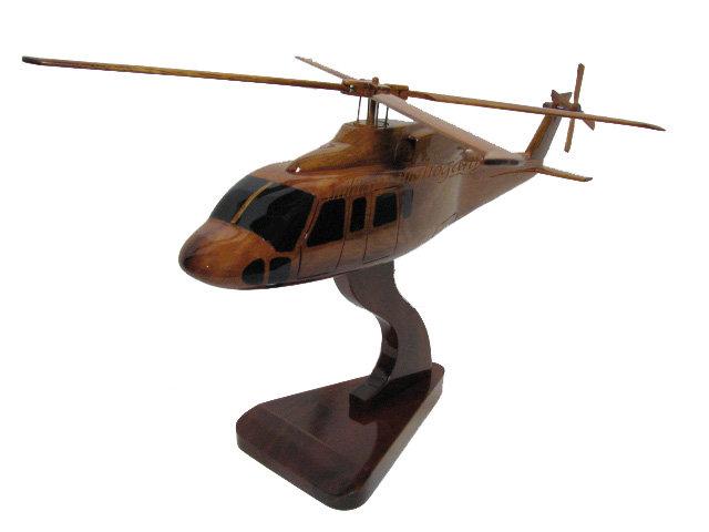 Sikorsky S-76 Wooden Model