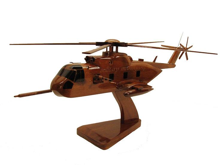 HH-3E Jolly Green Giant Wooden Model