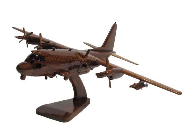 AC-130W Stinger II Wooden Model