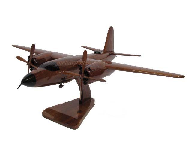 B-26 Marauder Wooden Model