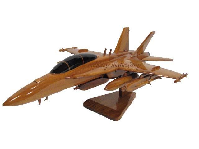 EA-18G Growler Wooden Model
