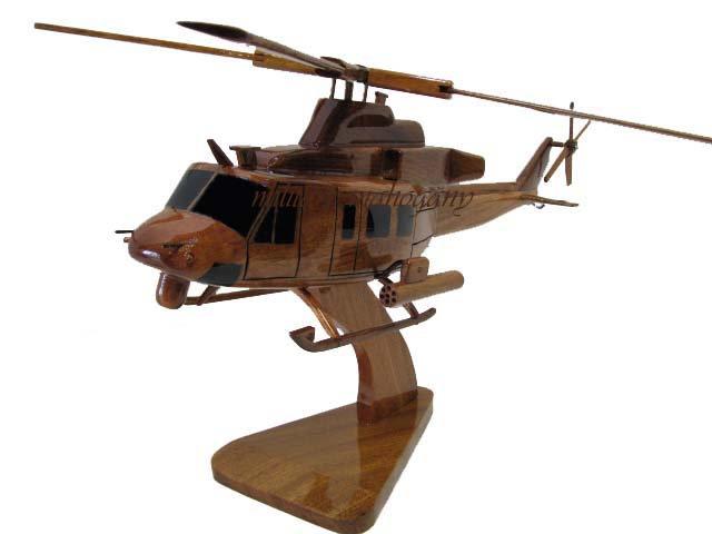 UH-1Y Huey Wooden Model