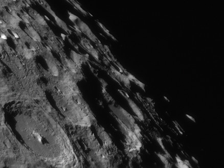 Moon in infra red with 40 year old scope
