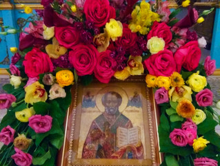 Преставление святителяНиколая, архиепископа Мир Ликийских чудотворца – малый престольный праздник в