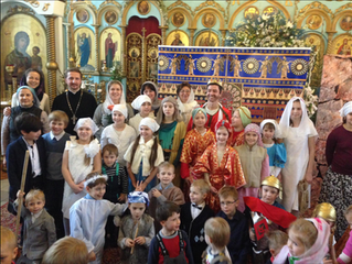 Спектакль в честь Рождества Христова!