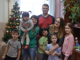 Посещение детского дома молодежью Химкинского благочиния.