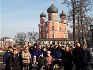 Паломничество в Донской монастырь.