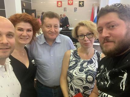 Рабочая группа по вопросу застройки Олимпийца.