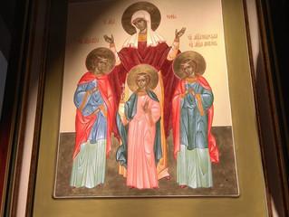 Новая Святыня в нашем Храме!