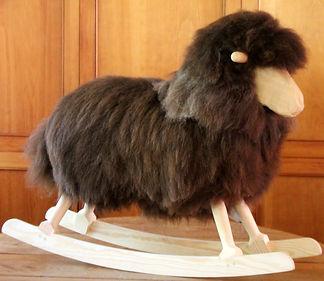 Brown Rocking Sheep PRODUCTS Sheepskins