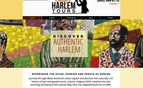 Barry's Harlem Tours Walking tours of Black America's urban capital.