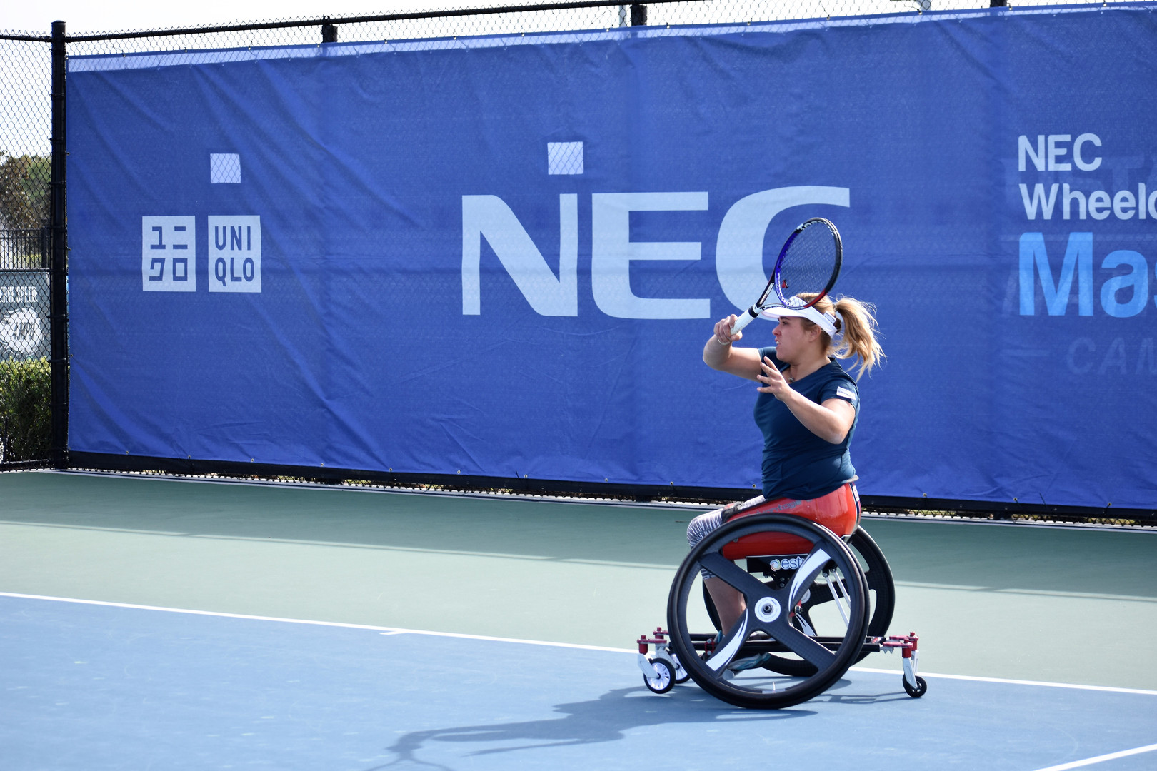 Giulia Capocci at the 2018 NEC Wheelchair Tennis Masters, Orlando, Fla. - Nov. 2018