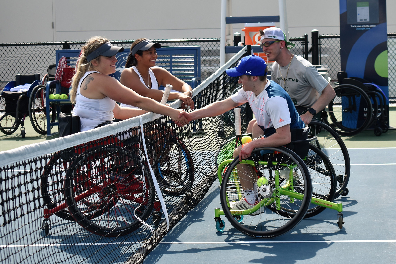 National Collegiate Wheelchair Tennis Championships, Orlando, Fla. - April 2018