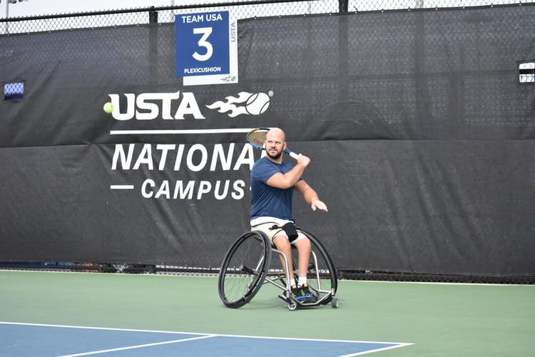 Stefan Olsson at the 2018 NEC Wheelchair Tennis Masters, Orlando, Fla. - Nov. 2018