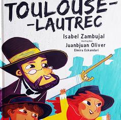 Violeta e Índigo descobrem Toulouse-Lautrec