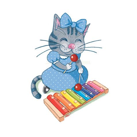 Kitty Cat & Xylophone