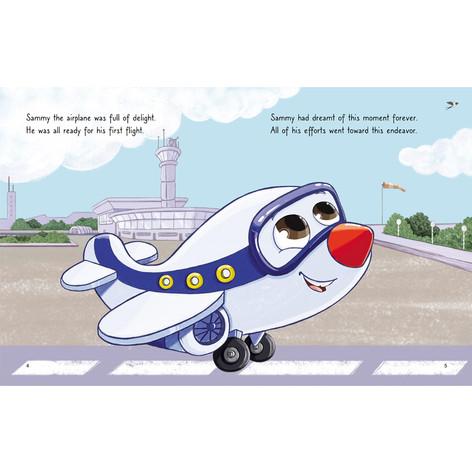 Sammy's First Flight By Rhi Said, 2021