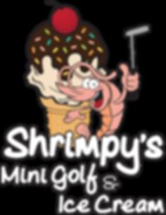Shrimpy's Mini Golf and Ice Cream logo