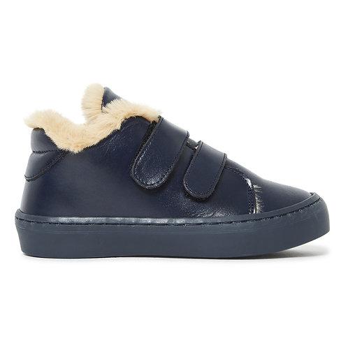 Babywalker - Leather Navy Sneakers
