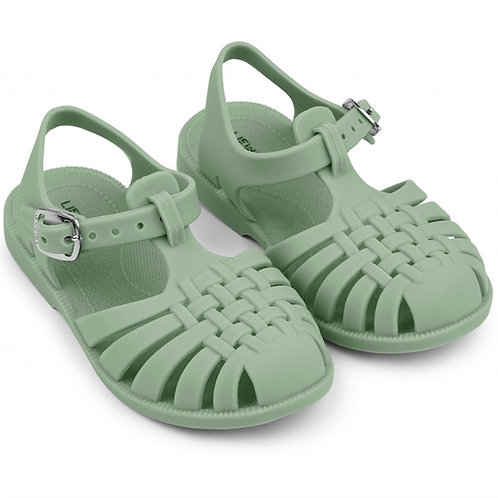 Dusty Mint Jelly Sandals