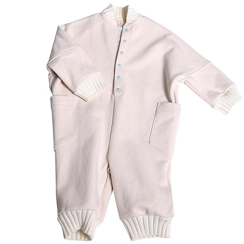 Brushed Fleece Baby Britta Jumpsuit