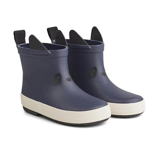 Rainboots - Navy Panda