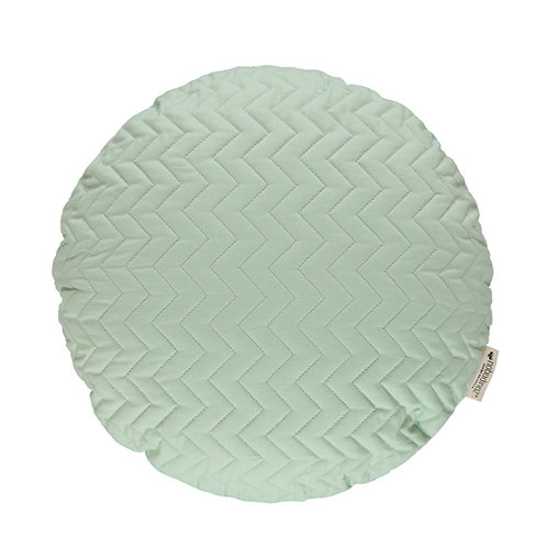 Round Shaped Cushion - Provence Green