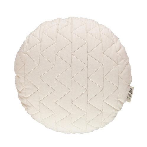 Round Shaped Cushion - Natural
