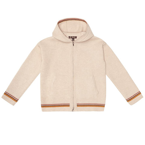 Loro Piana - Suitcase Stripes Cashmere Hoodie