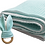 Thumbnail: Aqua Minty Blanket Teether Set