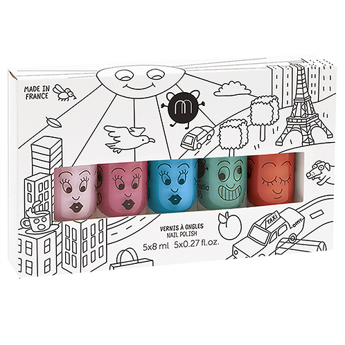 Nailmatic - City Pack of 5